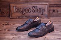Мужские туфли лоферы P-138 , 28 см, 42 размер. Код: 407.