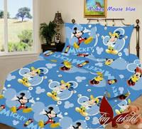 Комплект постельного белья полуторный ТМ Таg Mickey Mouse blue