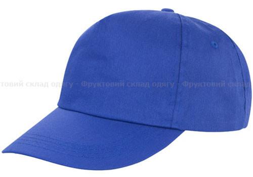 Мужская ЯРКО-синяя кепка