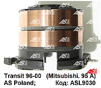 Токосьемные (контактные) кольца, коллектор генератора Ford Transit 2.5 D - 2.5 TD (96-00) Форд Транзит.