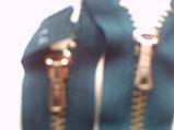 молния ykk голубая 14 см, фото 2