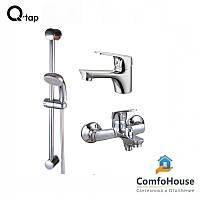 Q-TAP SET CRM 35-111 набор для ванной комнаты 3 В 1 (к.35)