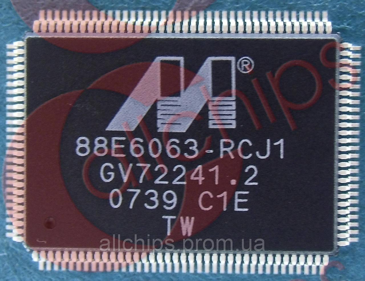 Ethernet 7 Marvell 88E6063 RCJ1 QFP