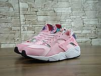Женские кроссовки Nike Air Huarache Pink (36-40 Размеры)