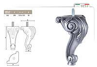 Ножка меблева фігурна букова DV Art. 0253