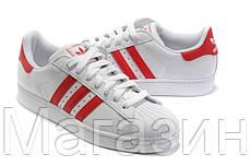 Женские кроссовки Adidas Superstar Адидас Суперстар белые, фото 2