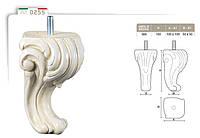 Ножка меблева фігурна букова DV Art. 0255