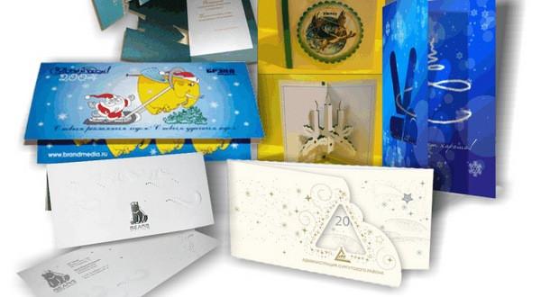 Изготовление поздравительных открыток в Днепре