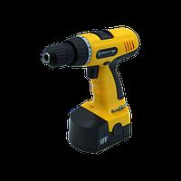 Шуруповерт аккумуляторный Craft-Тec PXCD 215 (18-2-1H Желтый)