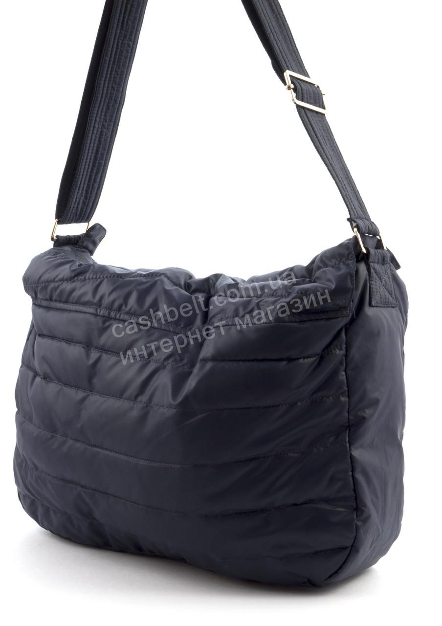 8d59772304f3 Вместительная мягкая прочная болоневая женская стеганая сумка БН art. 17-17  синяя, цена 285 грн., купить в Виннице — Prom.ua (ID#513997014)