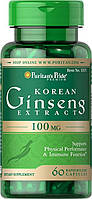 Puritan's Pride Korean Ginseng 100 мг (60 кап)