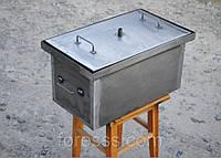 Коптильня с гидрозатвором для горячего копчения (520х300х280), фото 1