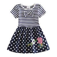 Детское  платье свинка Пеппа для девочек 4-6 лет