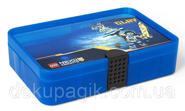 Бокс Лего Некзо Найтс для хранения игровых фигурок (с перегородками) 4