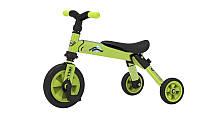 Складной трёхколёсный велосипед 2в1 зеленый TCV (T701 G)