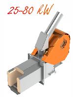 Пеллетная горелка Eco-Palnik UNI-MAX 40 кВт +Шнек 1.5м, фото 1
