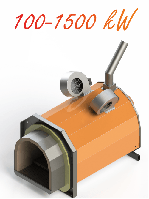 Пеллетная горелка Eco-Palnik UNI-MAX 100 кВт +Шнек 2м