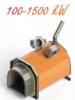 Пеллетная горелка Eco-Palnik UNI-MAX 400 кВт +Шнек 2м, фото 1