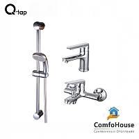 Q-TAP SET CRM 35-211 набор для ванной комнаты 3 В 1 (к.35)