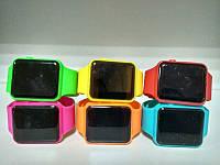Квадратные  силиконовые светодиодные часы