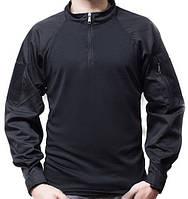 """Тактическая рубашка (UBACS) чёрная """"Полиция"""""""
