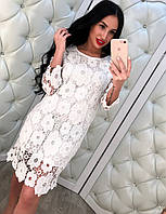 Женское кружевное платье DB-3194
