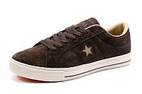 Кеды мужские Converse, коричневые, р. 41 42 43 44