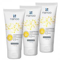 Солнцезащитный крем на основе наночастиц SPF 30 / 100 г - Nanoo