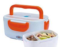 Электрический ланч-бокс с подогревом (термос-контейнер) The electric lunch box