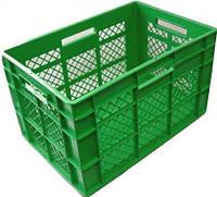 Ящик пластмассовый 600*400*350 перфорированный