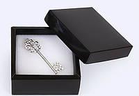 Коробка 70/70/30мм черная для бижутерии
