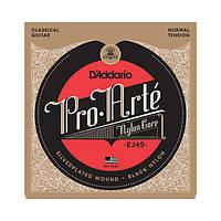 Струны D`ADDARIO EJ49 PRO-ARTE BLACK TREBLE NORMAL TENSION