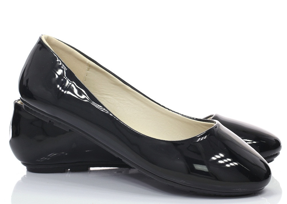 Женские балетки Demers black