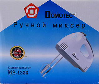 Миксер ручной Domotec MS-1333