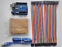 ARDUINO UNO R3 3в1 (USB кабель,Корпус,Перемычки) ATMega16U2, фото 1