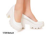 Туфли женские на толстом каблуке, молодежная модель, удобная на каждый день,  р.36-41, 5 цветов Sev Mar S1730