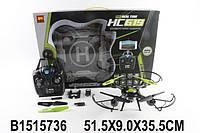 Квадрокоптер на радио управлении, камера, запасные лопасти, в коробке 51,5*9,0*35,5см
