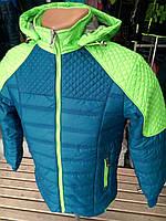 Красивая и качественная куртка ветровка для мальчика (рост 134-152)