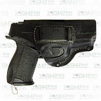 Поясная кобура для пистолета Форт 17, кожа, со скобой для скрытого ношения., фото 1