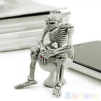 Брелок  для ключей, сувенир Скелет