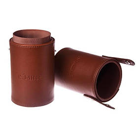 Тубус для хранения кистей - Make Up Me TUBE-Brown Коричневый - TUBE-BROWN