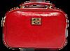 Оригинальная женская сумочка Diary Klava красного цвета LLK-003470
