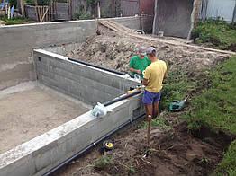 Монтаж прудового и бассейного оборудования