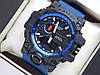 Спортивные часы Casio G-SHOCK GWG-1000 синего цвета