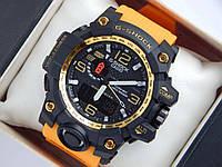 Спортивные часы Casio G-SHOCK GWG-1000 желтого цвета