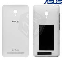 Задняя панель корпуса для Asus ZenFone Go (ZC500TG), оригинал, белая