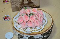 Цветы Каллы (цена за букет из 12 шт). Цвет - нежно розовый