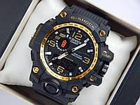 Спортивные часы Casio G-SHOCK GWG-1000 золотистый циферблат