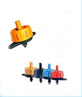 SL-015 Капельница с компенсацией давления (расход 2 л/ч - цвет желтый)