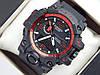 Спортивні годинник Casio G-SHOCK GWG-1000 червоний циферблат